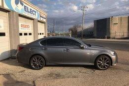 2009 Lexus IS 250 15% Tint