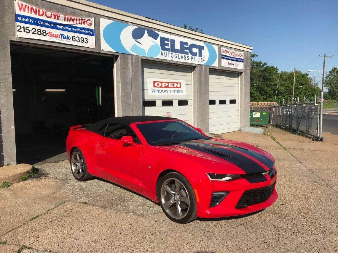 2017 Chevrolet Camaro- Select Autoglass Plus LLC