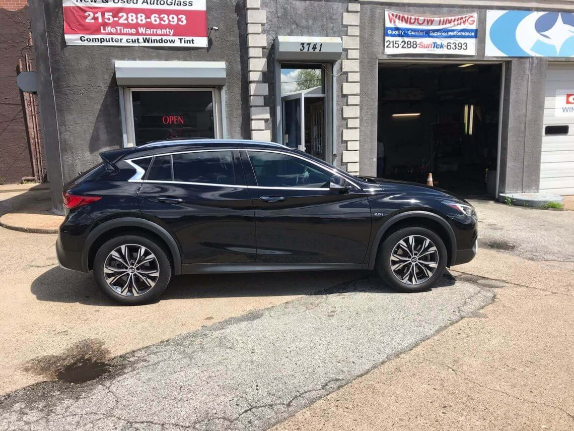 2018 Infinite Qx30 20% Ceramic Tint