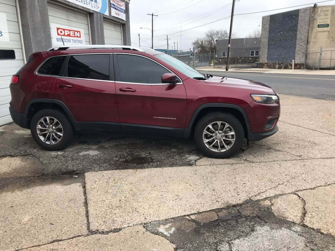 2018 Jeep Cherokee 15% Tint